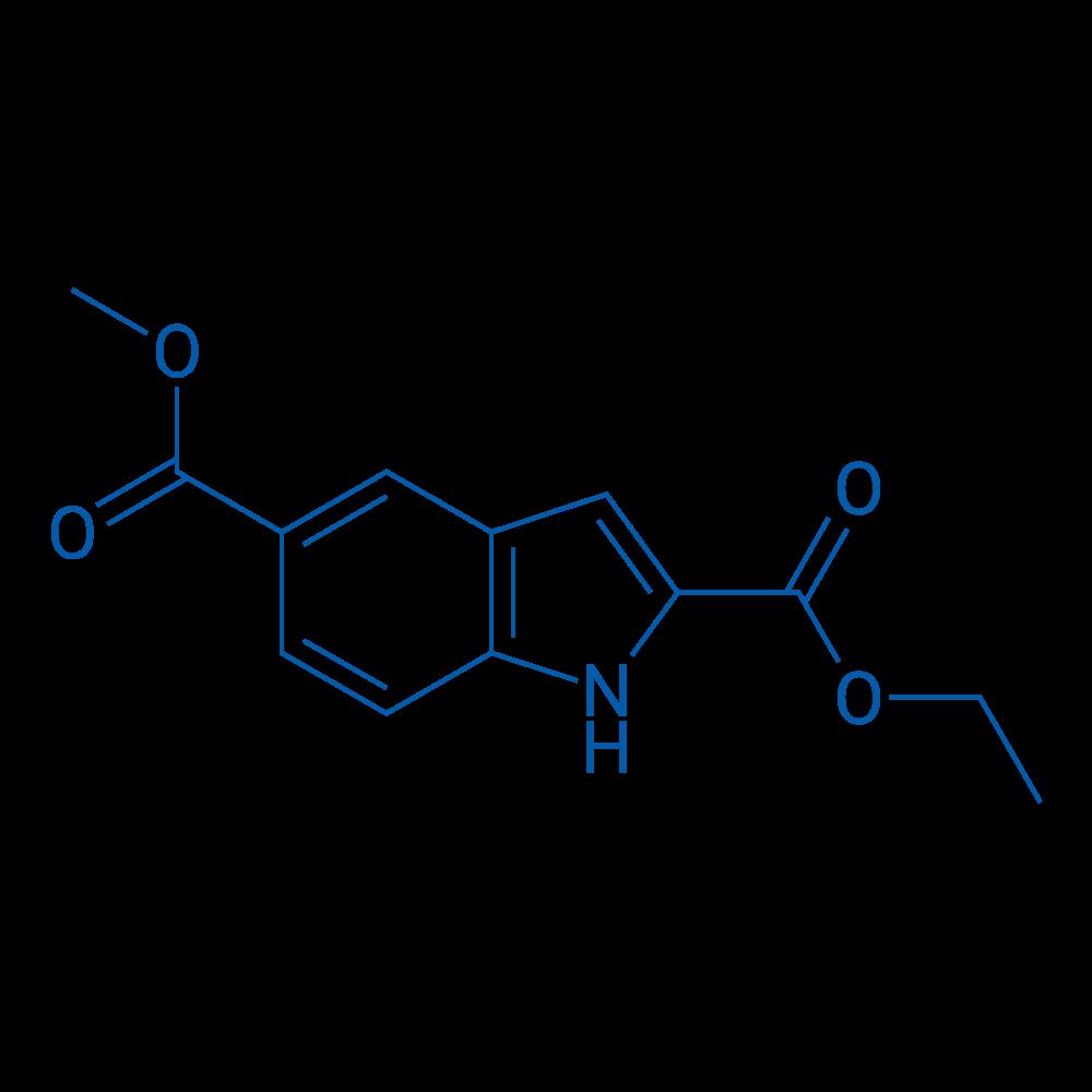 2-Ethyl 5-methyl 1H-indole-2,5-dicarboxylate