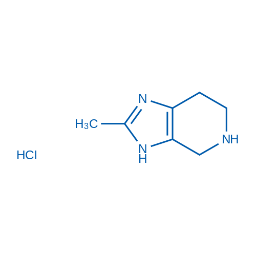 2-Methyl-4,5,6,7-tetrahydro-3H-imidazo[4,5-c]pyridine hydrochloride