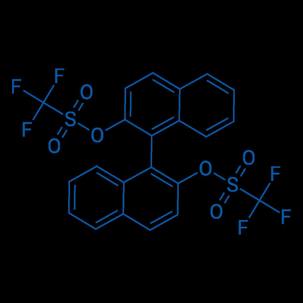 (R)-[1,1'-Binaphthalene]-2,2'-diyl bis(trifluoromethanesulfonate)