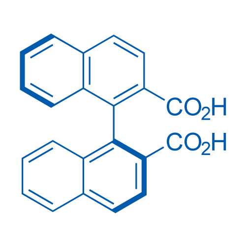 (S)-[1,1'-Binaphthalene]-2,2'-dicarboxylic acid