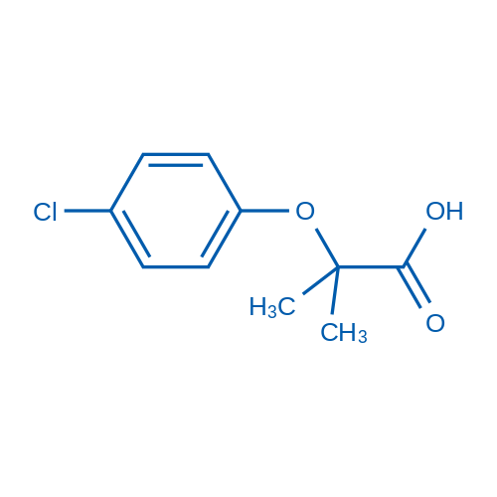 Clofibric acid