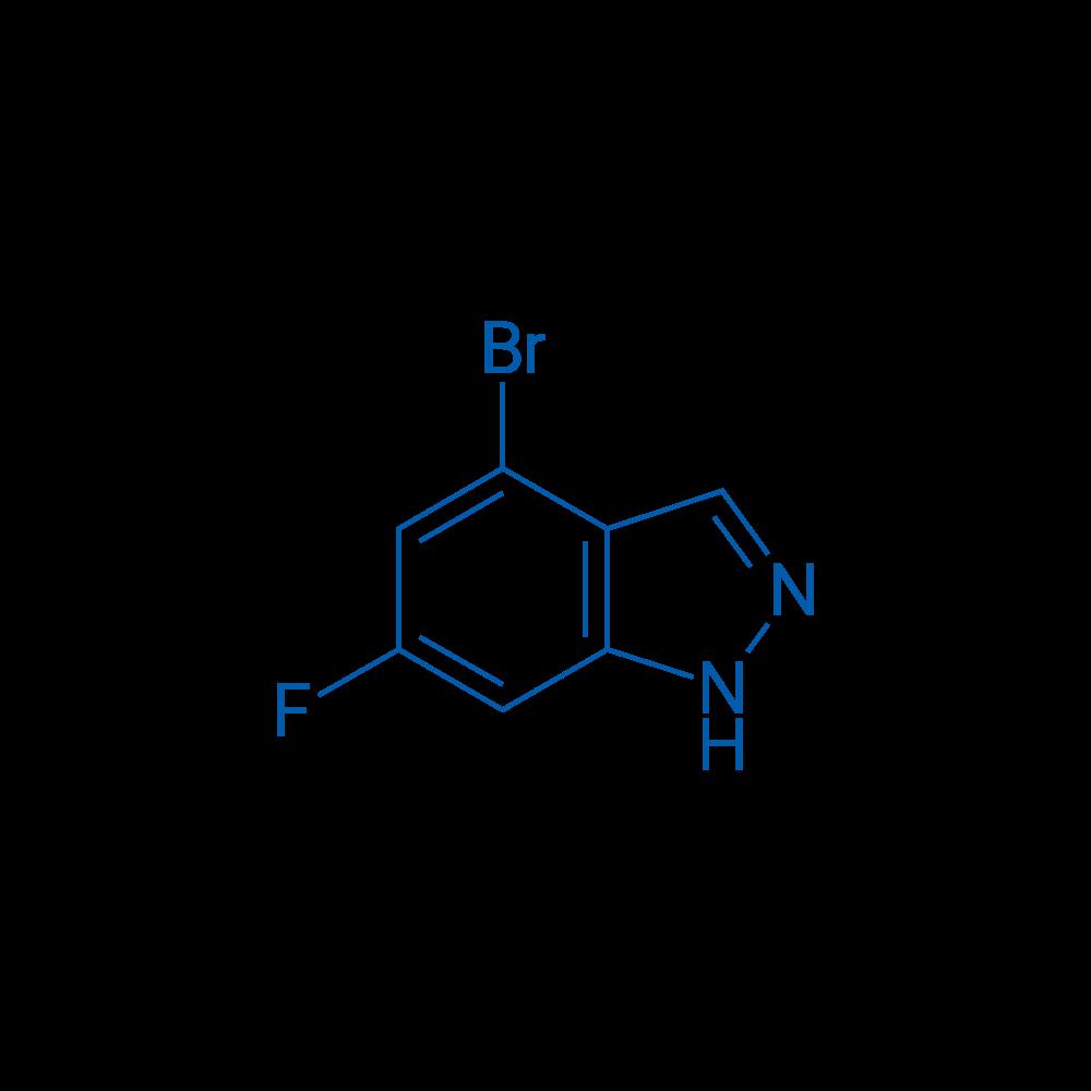 4-Bromo-6-fluoro-1H-indazole