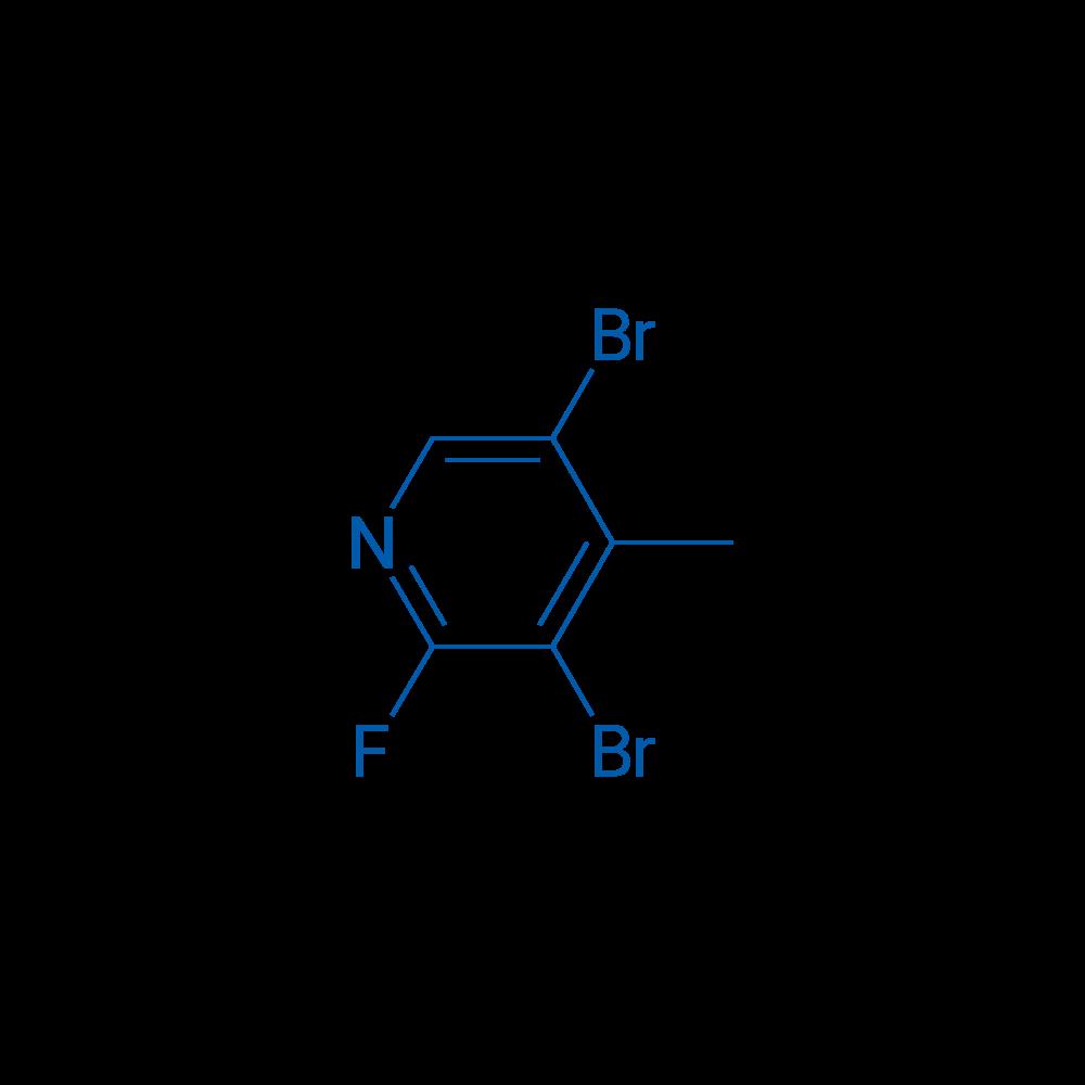 2-Fluoro-3,5-dibromo-4-methylpyridine