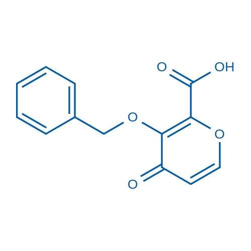 3-(Benzyloxy)-4-oxo-4H-pyran-2-carboxylic acid