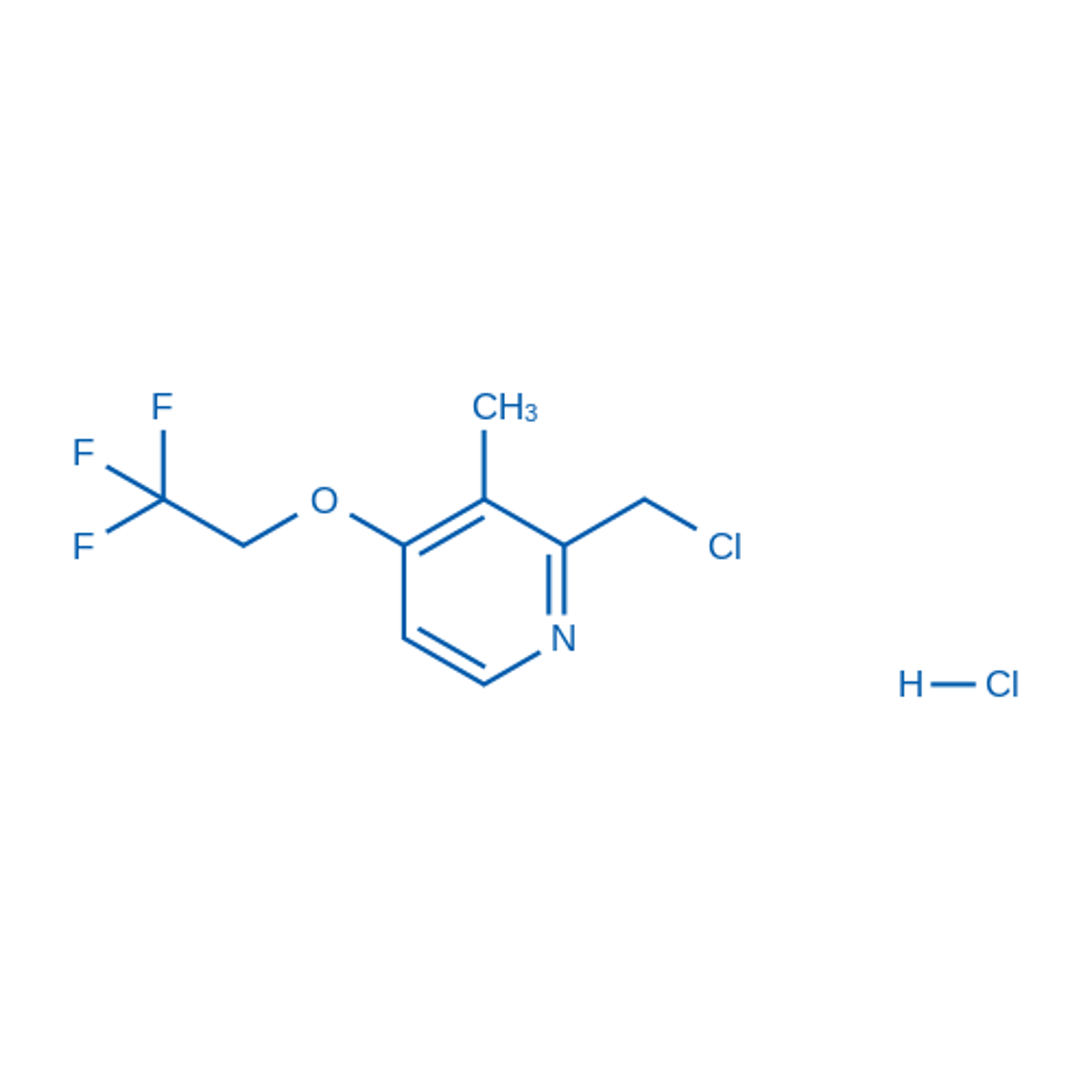 2-Chloromethyl-3-methyl-4-(2,2,2-trifluoroethoxy)pyridine hydrochloride