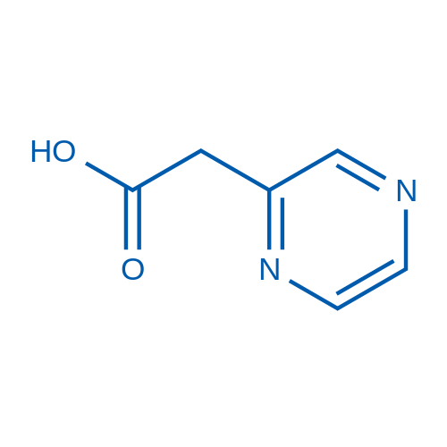 2-(Pyrazin-2-yl)acetic acid