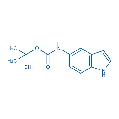tert-Butyl 1H-indol-5-ylcarbamate