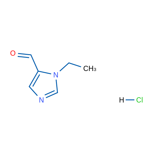 1-Ethyl-1H-imidazole-5-carbaldehyde hydrochloride