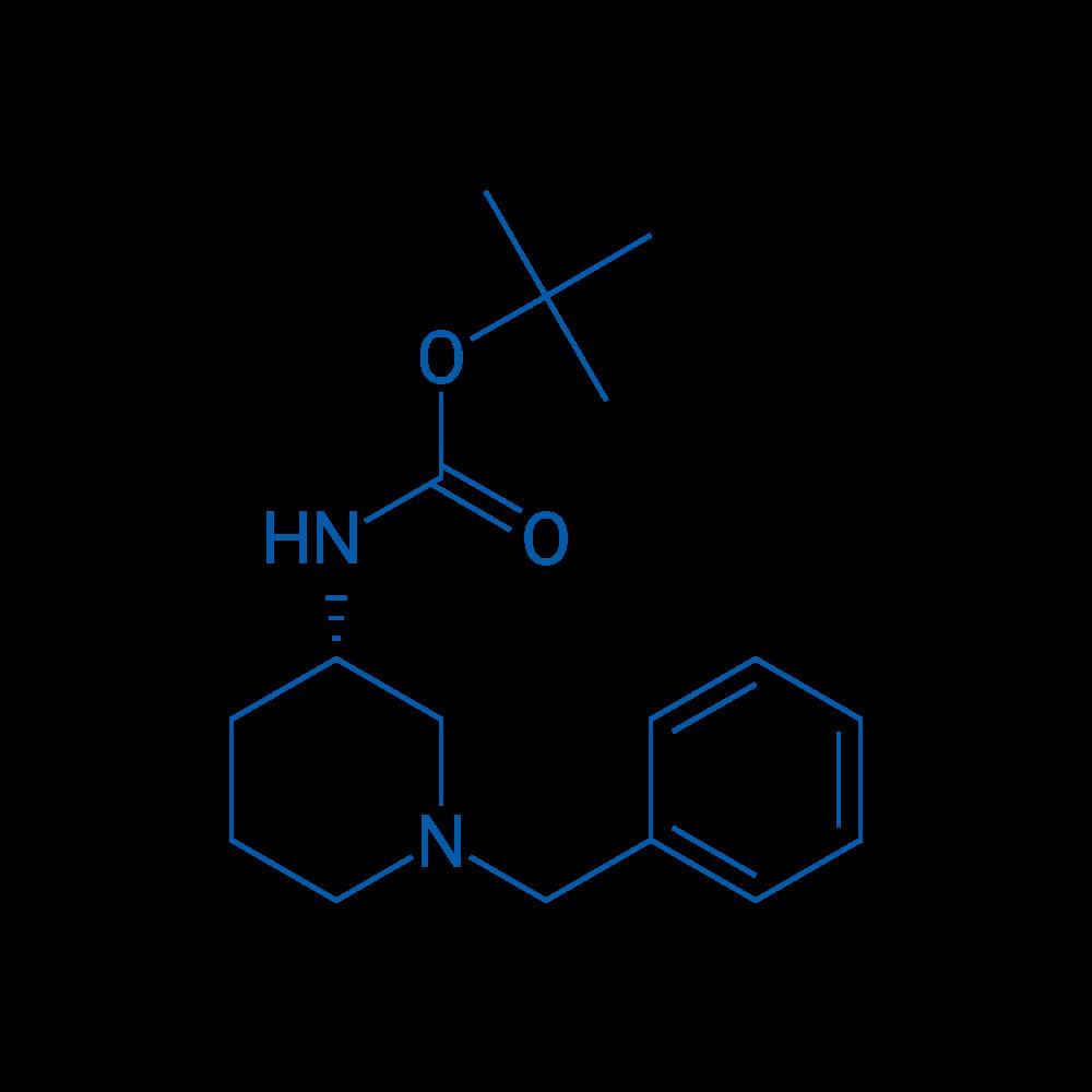 (S)-tert-Butyl (1-benzylpiperidin-3-yl)carbamate