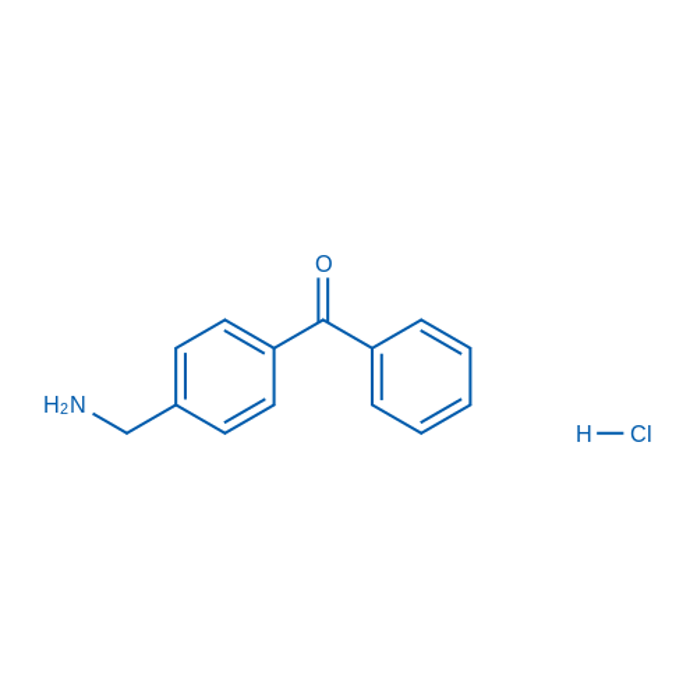 (4-(Aminomethyl)phenyl)(phenyl)methanone hydrochloride