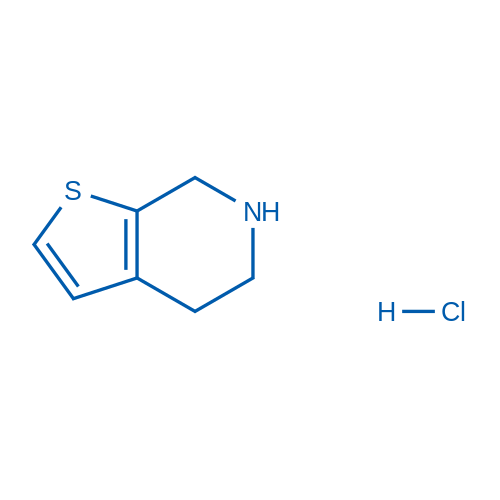 4,5,6,7-Tetrahydrothieno[2,3-c]pyridine hydrochloride
