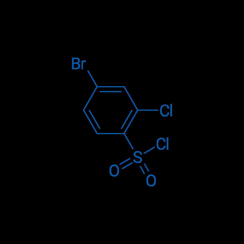4-Bromo-2-chlorobenzene-1-sulfonyl chloride