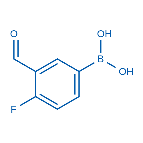 (4-Fluoro-3-formylphenyl)boronic acid