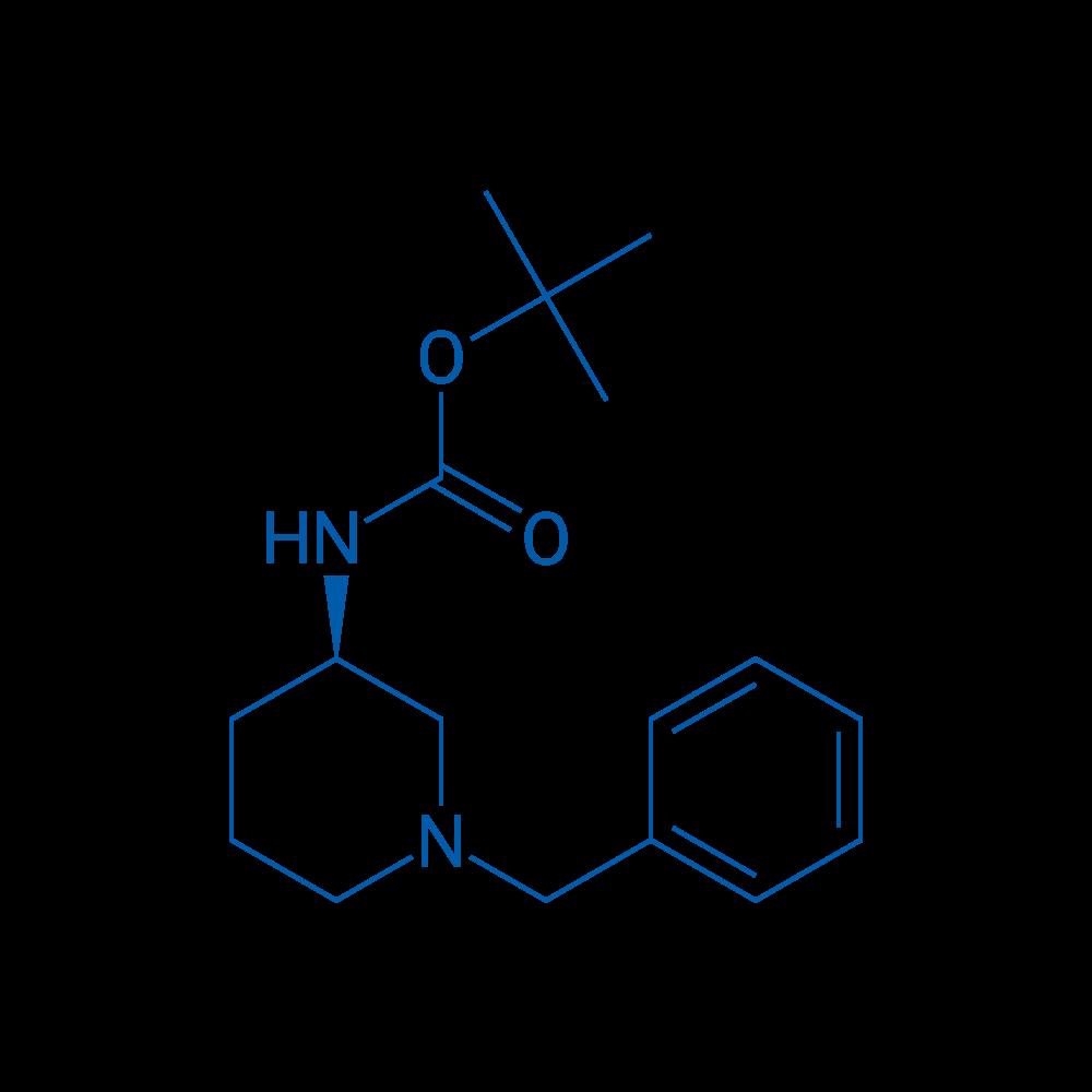 (R)-tert-Butyl (1-benzylpiperidin-3-yl)carbamate