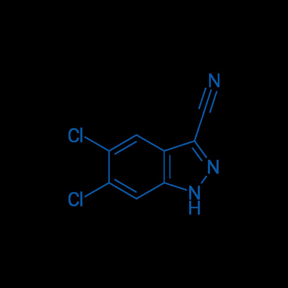 5,6-Dichloro-1H-indazole-3-carbonitrile
