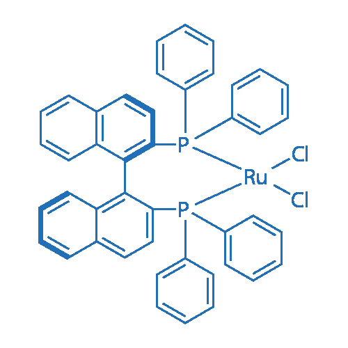 Dichloro [(R)-(+)-2,2'-bis(diphenylphosphino)-1,1'-binaphathyl] ruthenium(II)
