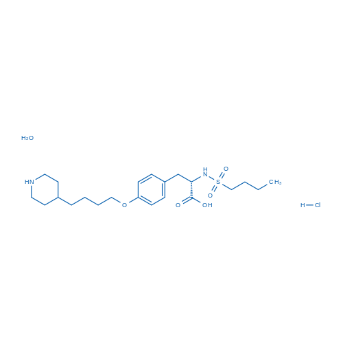Tirofiban hydrochloride monohydrate