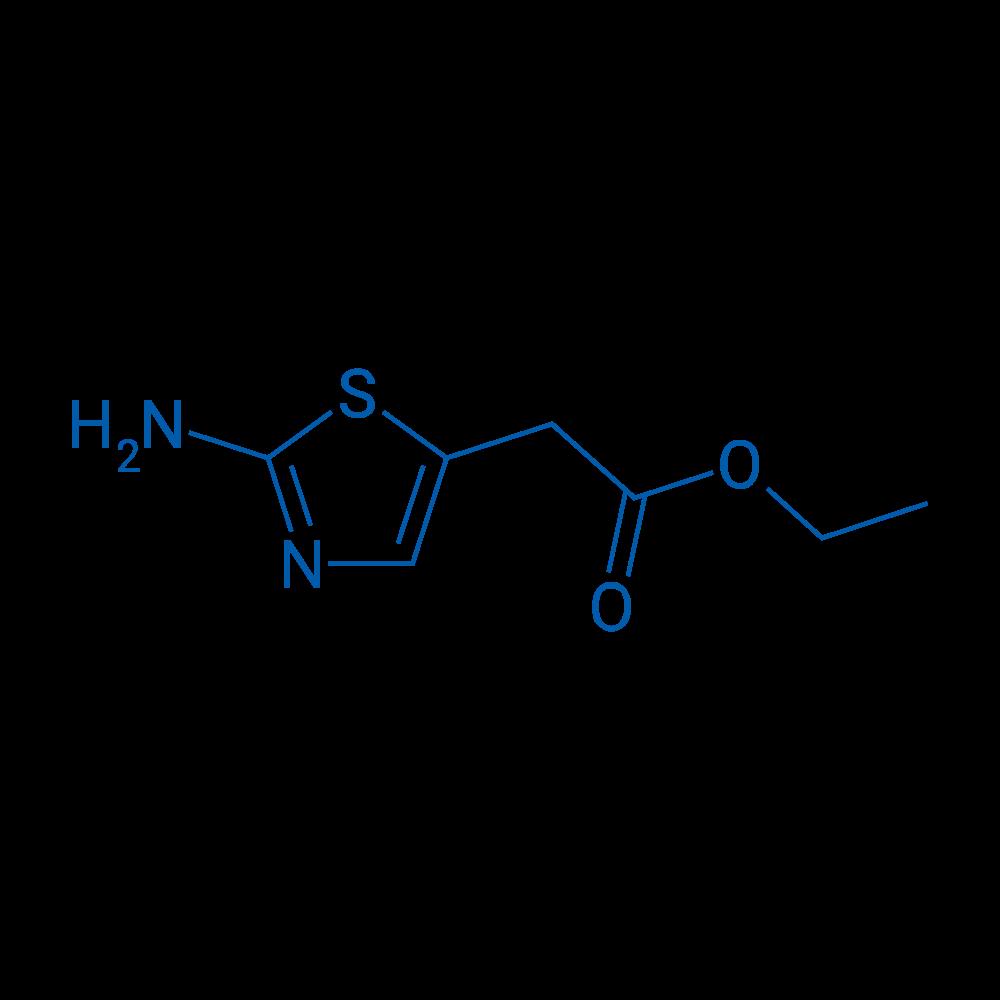 Ethyl 2-(2-aminothiazol-5-yl)acetate