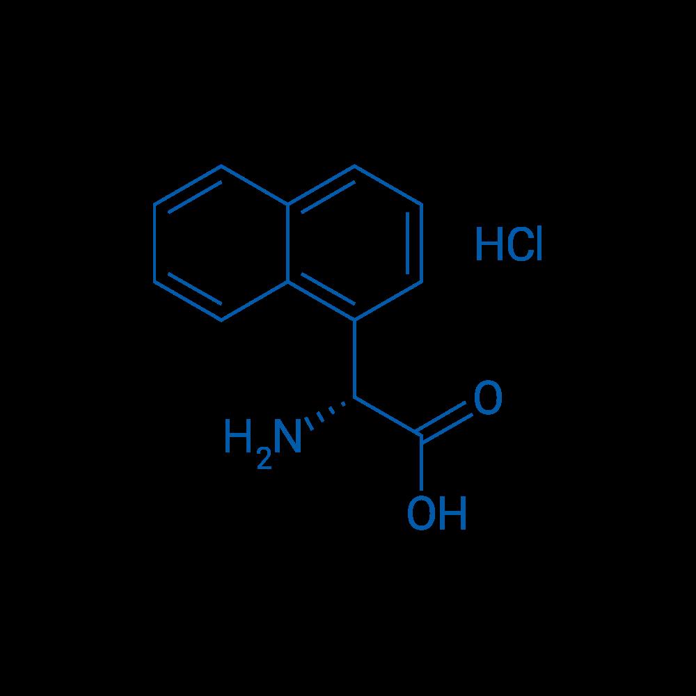 (R)-2-Amino-2-(naphthalen-1-yl)acetic acid hydrochloride