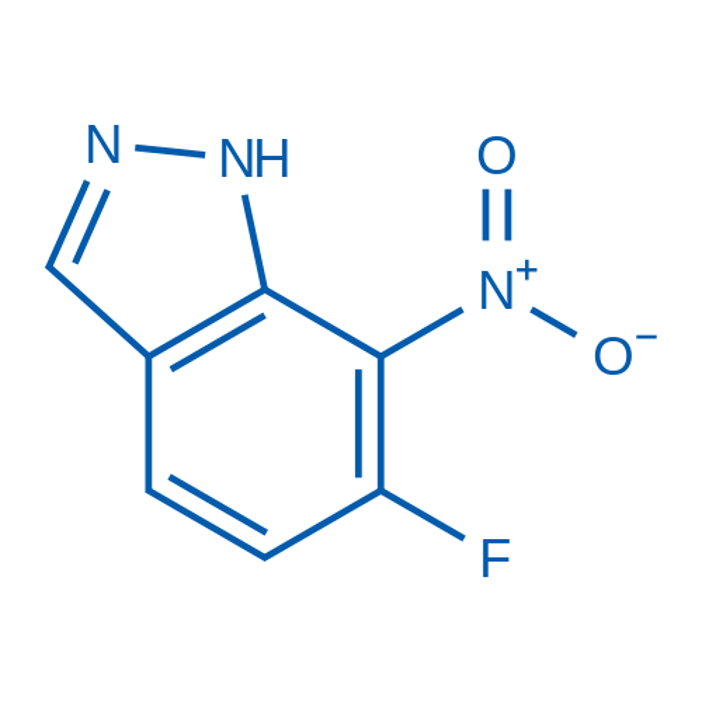 6-Fluoro-7-nitro-1H-indazole