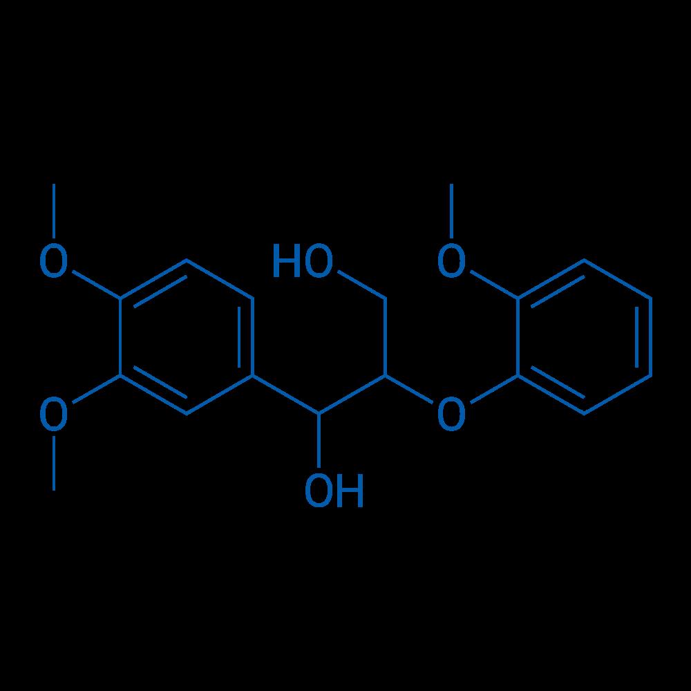 1-(3,4-Dimethoxyphenyl)-2-(2-methoxyphenoxy)propane-1,3-diol