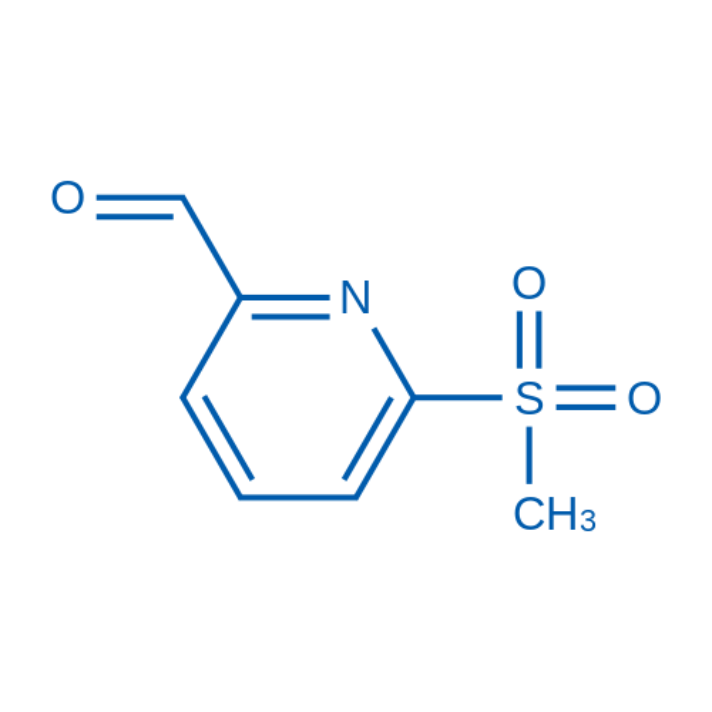 6-(Methylsulfonyl)picolinaldehyde