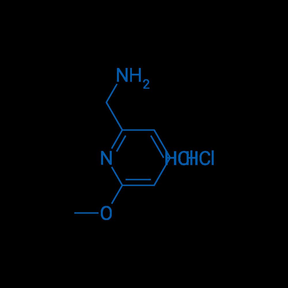(6-Methoxypyridin-2-yl)methanamine dihydrochloride