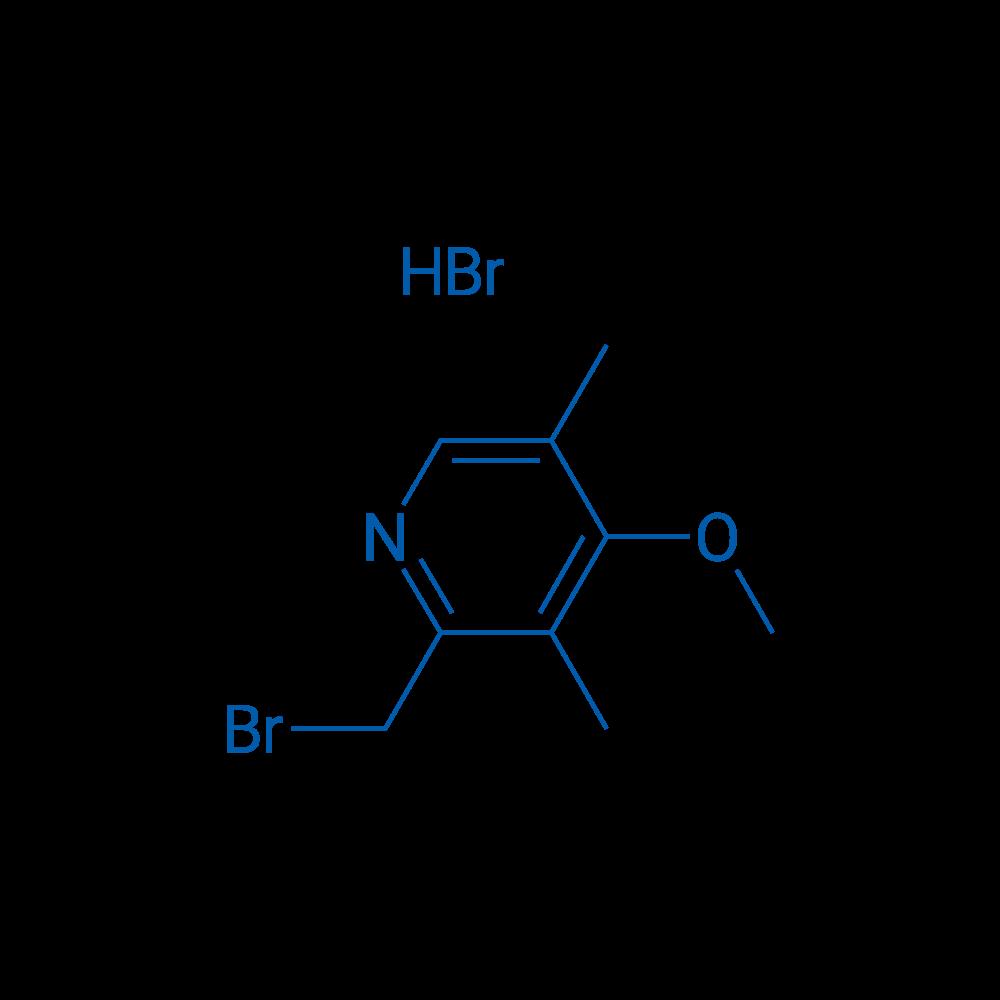 2-(Bromomethyl)-4-methoxy-3,5-dimethylpyridine hydrobromide