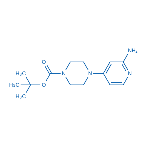 tert-Butyl 4-(2-aminopyridin-4-yl)piperazine-1-carboxylate
