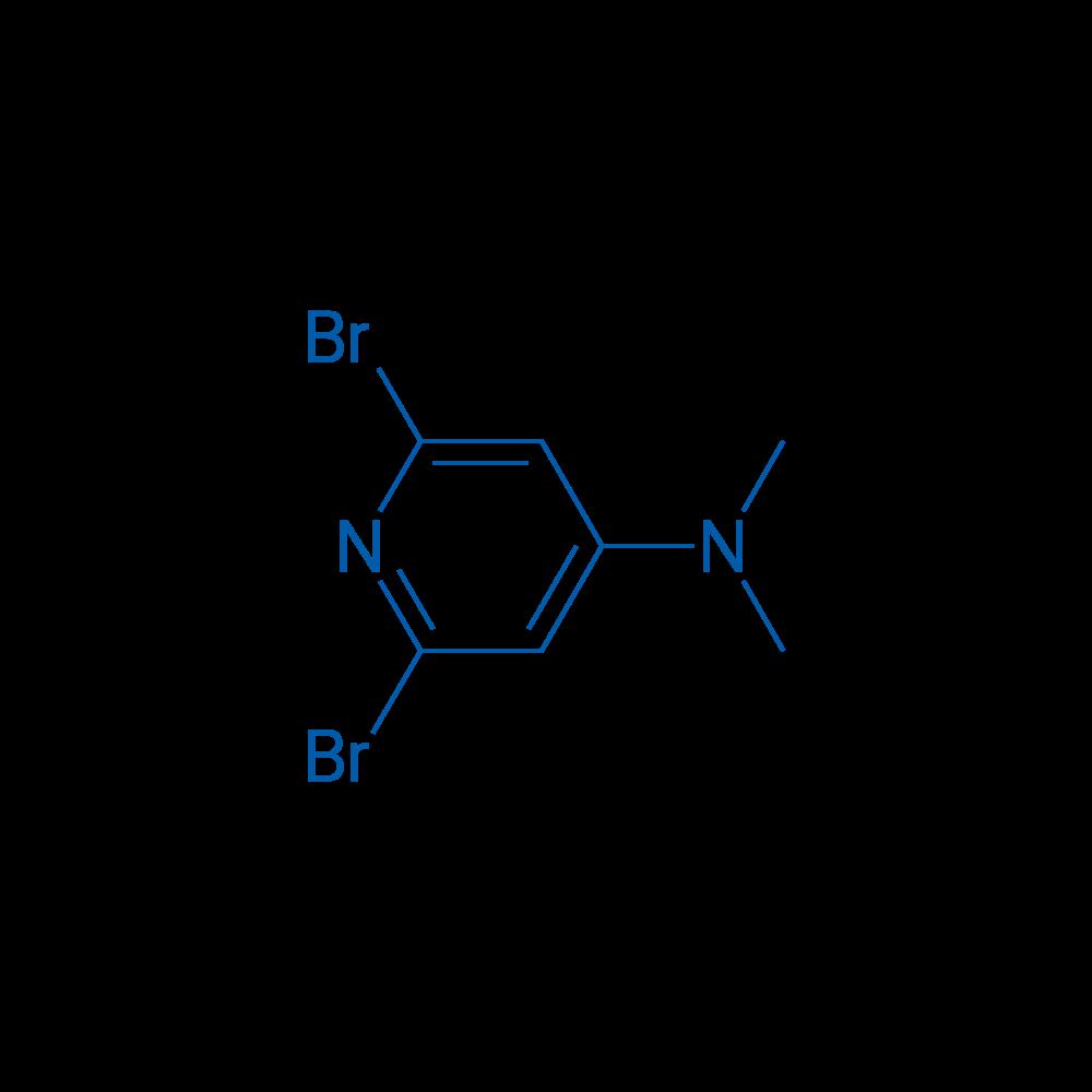 2,6-Dibromo-N,N-dimethylpyridin-4-amine