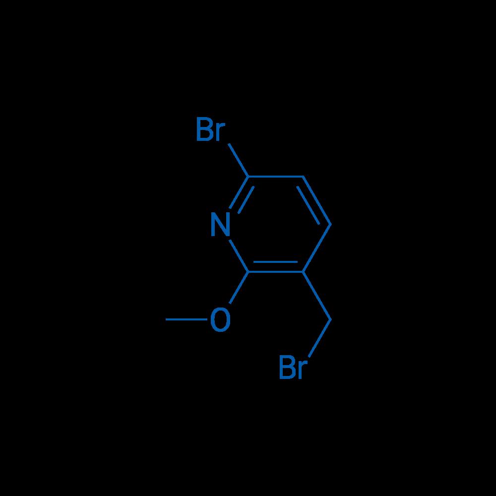 6-Bromo-3-(bromomethyl)-2-methoxypyridine