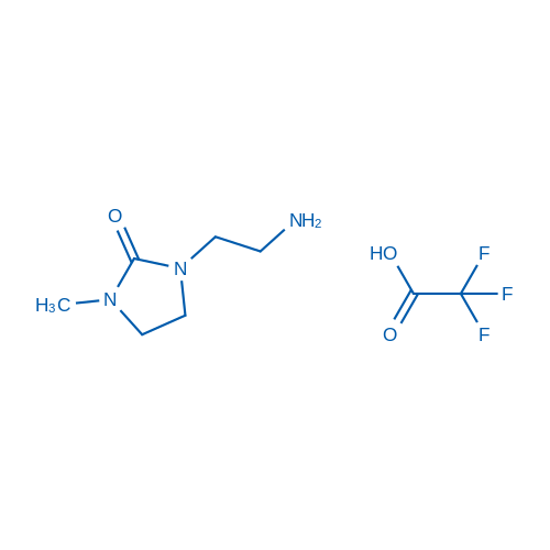 1-(2-Aminoethyl)-3-methylimidazolidin-2-one 2,2,2-trifluoroacetate