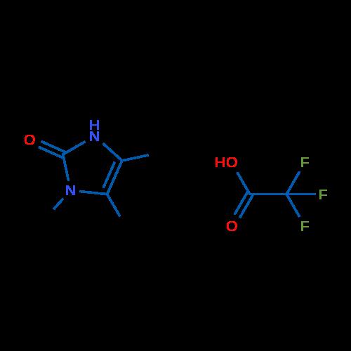 1,4,5-Trimethyl-1H-imidazol-2(3H)-one 2,2,2-trifluoroacetate