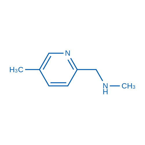 N-Methyl-1-(5-methylpyridin-2-yl)methanamine