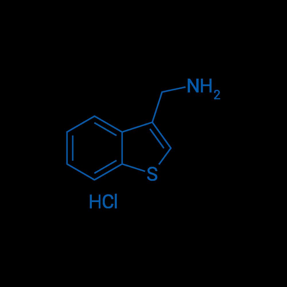 Benzo[b]thiophen-3-ylmethanamine hydrochloride
