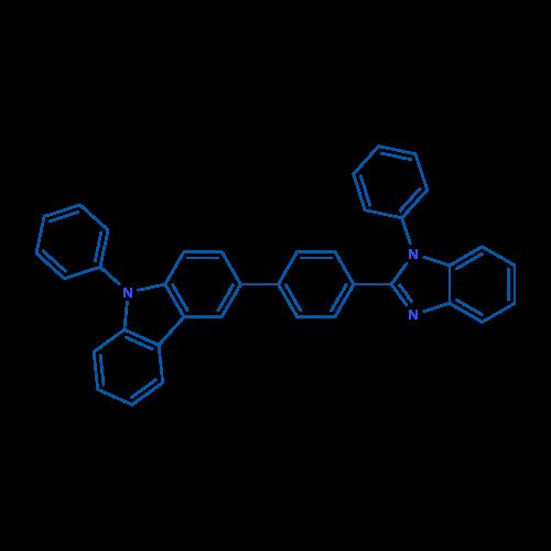 9-Phenyl-3-(4-(1-phenyl-1H-benzo[d]imidazol-2-yl)phenyl)-9H-carbazole