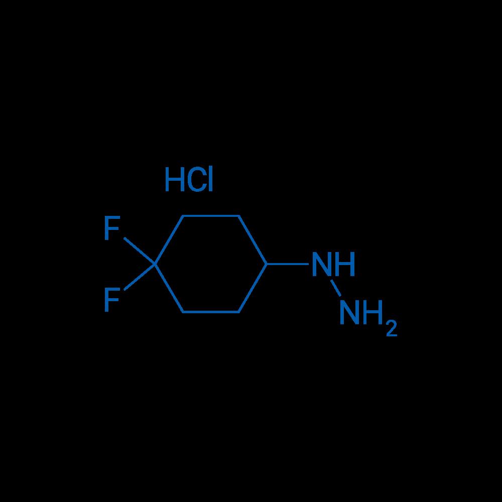 (4,4-Difluorocyclohexyl)hydrazine hydrochloride