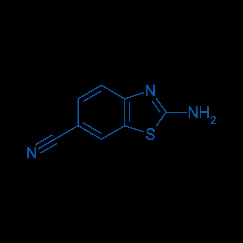 2-Aminobenzothiazole-6-carbonitrile