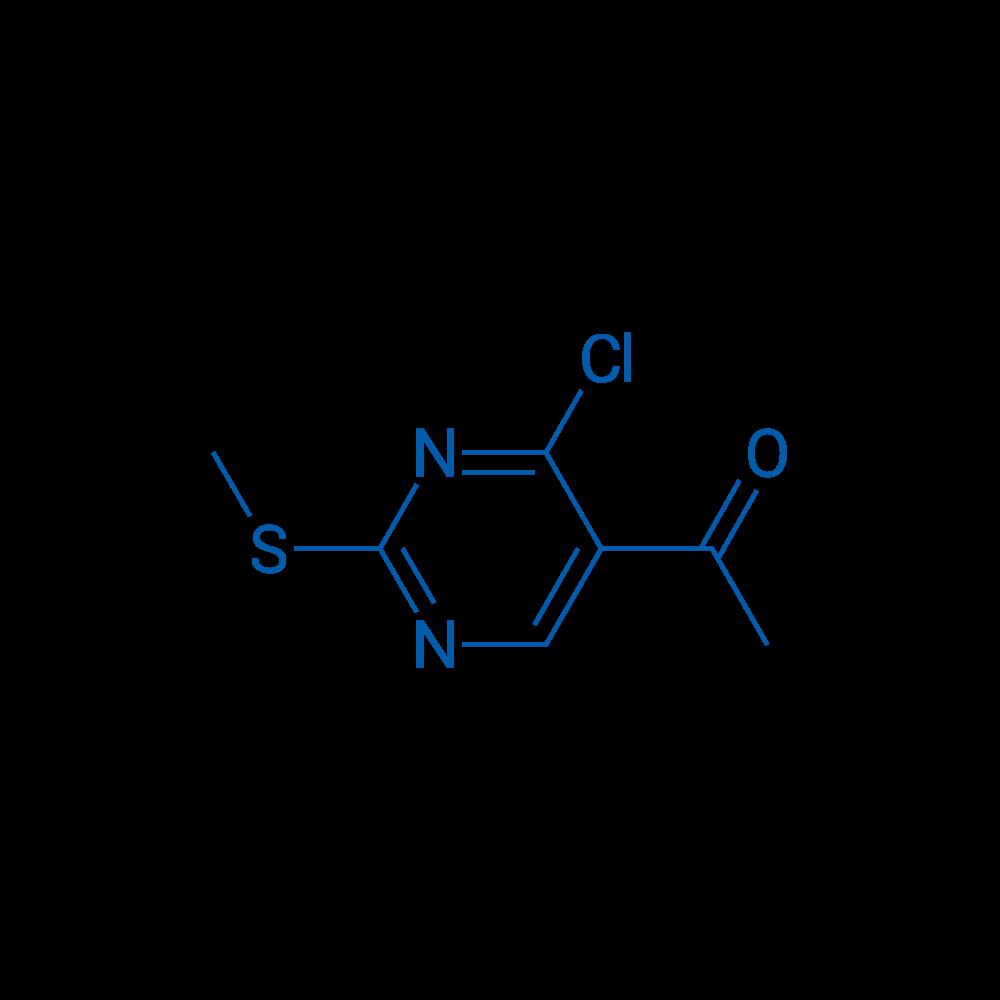 1-(4-Chloro-2-(methylthio)pyrimidin-5-yl)ethanone