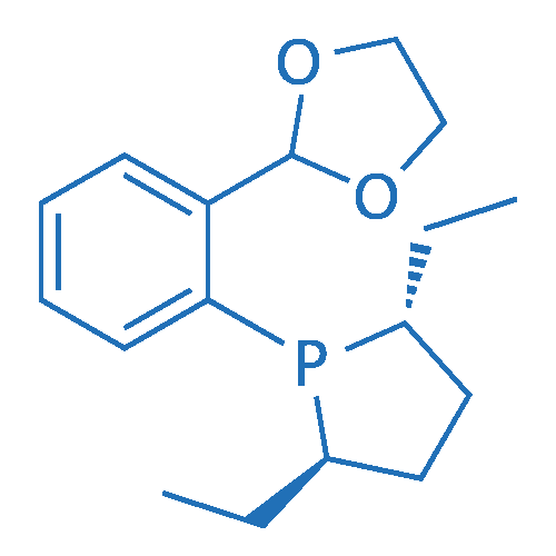 (2R,5R)-1-(2-(1,3-dioxolan-2-yl)phenyl)-2,5-diethylphospholane