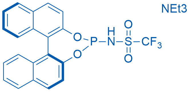 N-[(11bS)-Dinaphtho[2,1-d:1',2'-f][1,3,2]dioxaphosphepin-4-yl]-1,1,1-trifluoromethanesulfonamide triethylamine adduct