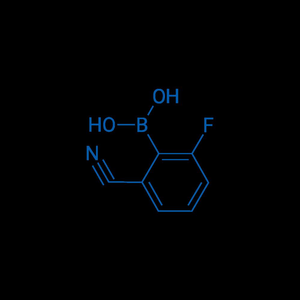 (2-Cyano-6-fluorophenyl)boronic acid