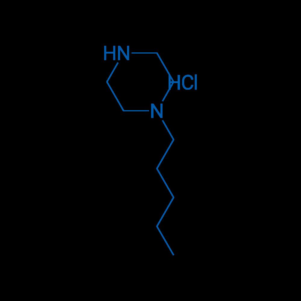 1-Pentylpiperazine hydrochloride