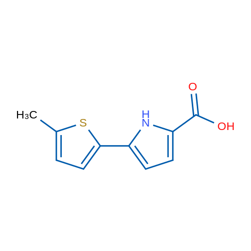 5-(5-Methylthiophen-2-yl)-1H-pyrrole-2-carboxylic acid