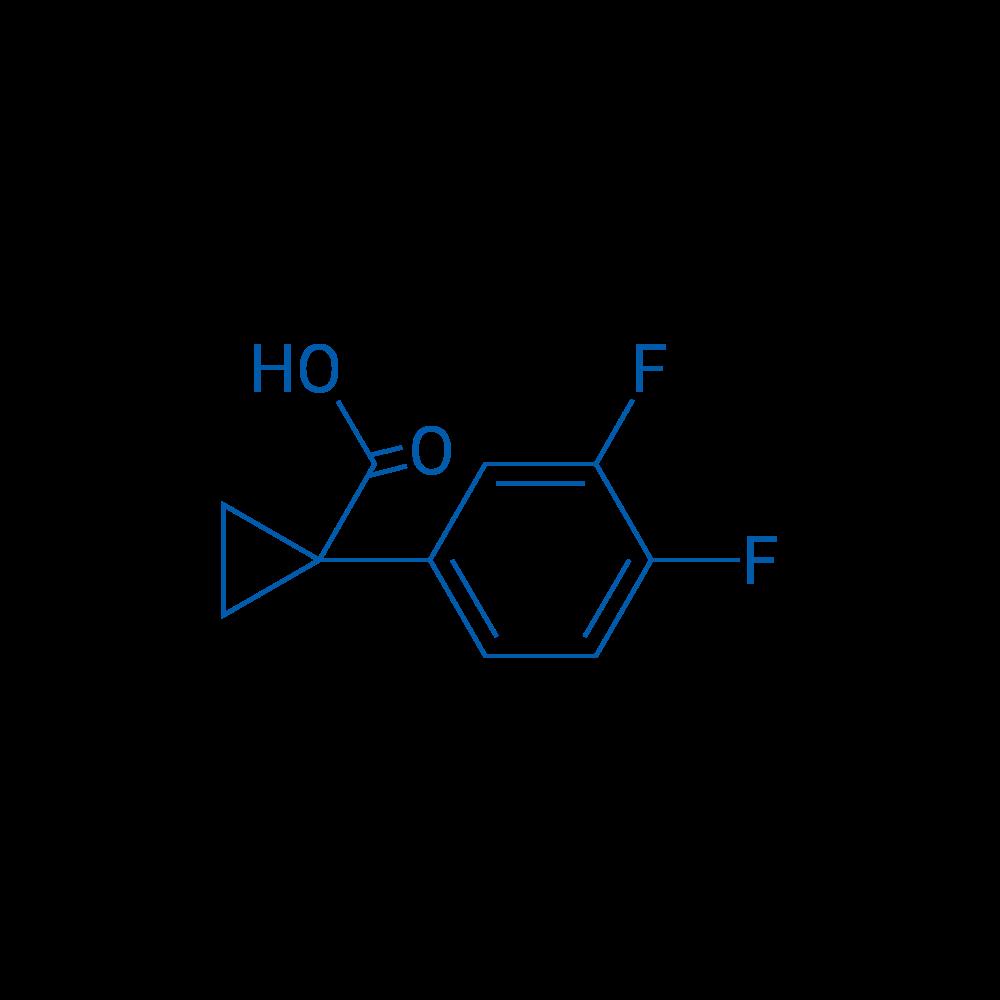 1-(3,4-Difluorophenyl)cyclopropanecarboxylic acid