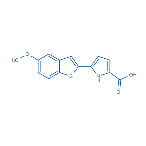 5-(5-Methoxybenzo[b]thiophen-2-yl)-1H-pyrrole-2-carboxylic acid