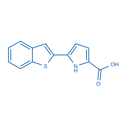 5-(Benzo[b]thiophen-2-yl)-1H-pyrrole-2-carboxylic acid
