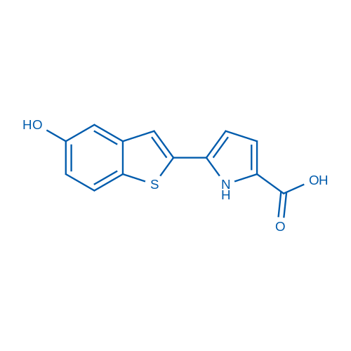 5-(5-Hydroxybenzo[b]thiophen-2-yl)-1H-pyrrole-2-carboxylic acid