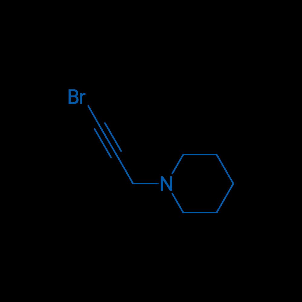 1-(3-Bromoprop-2-ynyl)piperidine