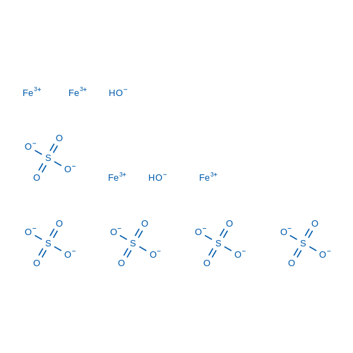 Iron hydroxide sulfate